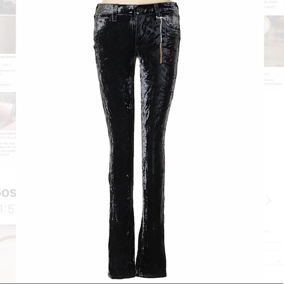 19c213687cd7d Ag Adriano Goldschmied Pants   Adriano Goldschmied Ag Velour Size 29 ...